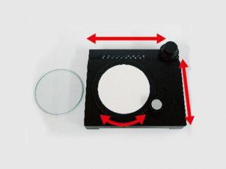 回転式簡易XYテーブル TK180-K