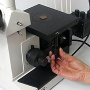 倒立型金属顕微鏡