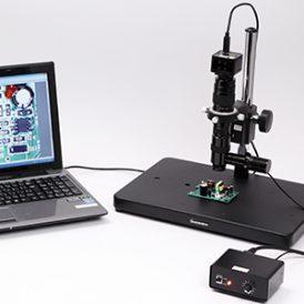 Coaxial vertical illumination Microscope
