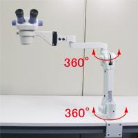 ズーム式実体顕微鏡 (スムースアーム付 粗動アングルタイプ)