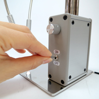 顕微鏡用薄型ツインアームLED照明
