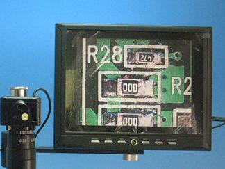 ビデオマイクロスコープ用8.0インチ液晶モニタセット