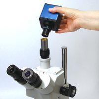 顕微鏡用 PCモニタダイレクトカメラ 〈USBメモリスロットル付〉 HDCE-SXGA3T