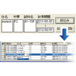 黒鉛球状化率計測ソフト Quick Grain G5502