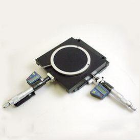 デジタルマイクロメータ付きXYテーブル TD100