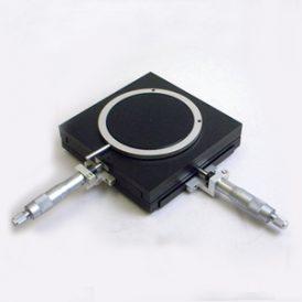 マイクロメータ付きXYテーブル TT100