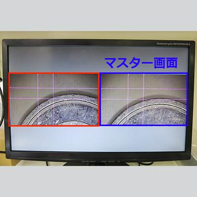 2画面表示機能付ハイビジョンカメラ GR200HD2-CX